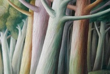 tree art ..... / A collection of artworks that have used wonderful trees as inspiration.