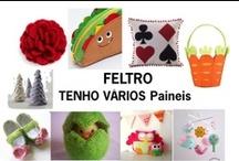 FELTRO / Feltro / by Keinia Araujo