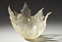 leaf art .... / A collection of artworks using flower, plant and tree leaves as inspiration.