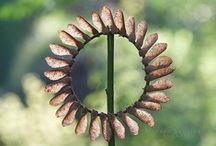seeds and pods and inspired art...... / Seeds and pods, another of nature's gifts.