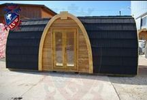 Camping Pods from Log Cabins LV / We are the number 1 for camping pods in Europe. Do not settle for less.
