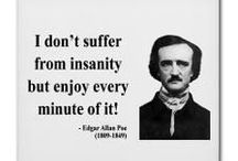 Quoting Poe / Dark and inspiring quotes from 19th century American author Edgar Allan Poe.