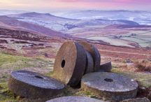 on the hill and moor.....