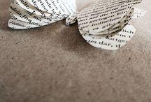 I ♥ PAPER / Ich liebe schönes Papier :-)