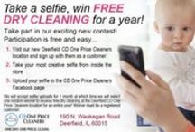 CONTESTS / Contests run by CD One Price Cleaners.