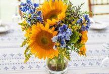 Inspiration: Sunflower Wedding / Photo Inspiration for a perfect summer sunflower wedding.