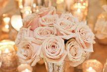 Inspiration: Peach & Gold Wedding / Photo inspirations for a peach & gold wedding