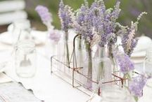 Inspiration: Lavender Wedding / Photo inspiration for the perfect lavender wedding