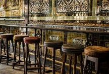 Booze & bars / Beautiful bars we've enjoyed a tipple in or that are on our wish list !