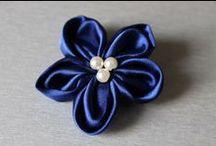 Broszki Violett Handmade / Ręcznie wykonane broszki
