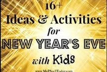 Happy New Year! / Ideas, games and crafts for the New Year!