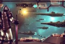 Sci-Fi Military and Illustration / Futuristic military images and maybe some steampunk and postmodern stuff. / by Antares