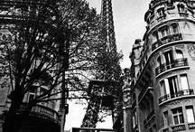 Paris, ville d'art et d'histoire / Paris ville de trésors architecturaux, ville romantique, Paris vintage....