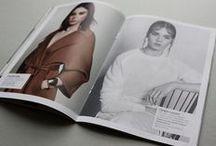 Fashion Magazine / cover & layout of the magazine EMMA / fashion / beauty magazine redesign © Mikina Dimunova