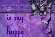 Purple is my Happy Place / All things purple ♥♥♥