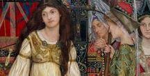 Medieval style wedding dress ideas