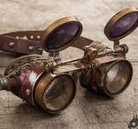 Goggles / Steampunk goggles & Postapo Googles Follow me on Facebook: https://www.facebook.com/timevehicle