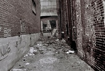 Gritty alleyways