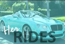 H e r R i d e  / Beautiful women and their rides