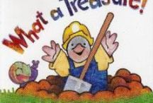 Dig Into Reading - Primary and Elementary / Books about digging and getting down in the earth.