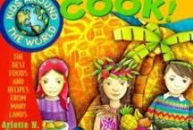 Cooking Across the Continents for Kids -- Cookbooks and Stories / This list explores the cooking and eating preferences of the cultures of the world. The books in the list are mostly cookbooks supplemented by stories and picture books.