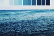 Blue   Color / Inspiational colors.
