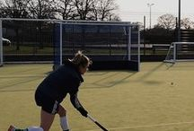 Crown Hockey Tour / Crown Hockey's tour of clubs, showing players our new stick.