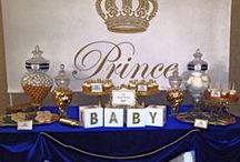 Royal Prince Themed Baby shower DIY, Printables, / nvitations & Announcements Invitations Prince Baby Shower royal blue Gold Glitter printable invitation invite personalized Royal blue and gold Little Prince crown invitation Boy Baby shower
