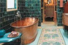 Bathroom Dreams / Bathroom interiors that inspire you to dream big and achieve your design goals. Shop more furniture at ConnectFurniture.com.au