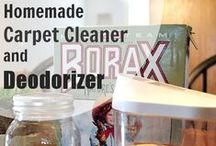 Cleaning & Organizing Tips / tips to help you keep a clean and safe home