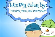 Winter Classroom Fun / Teaching activities for winter! Check out my blog for more ideas! blog.printableprompts.com