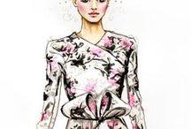 Fashion Illustration / Beautifully created fashion illustrations.