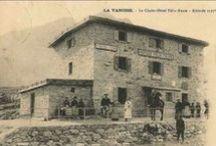 Pralognan autrefois / Les anciennes cartes postales photos de pralognan la vanoise