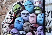 Street Art / Art is to be seen by everybody and it belongs to the streets