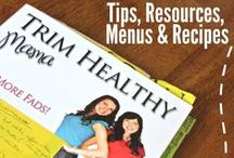 Trim Healthy Mama / THM recipes, tips and plans