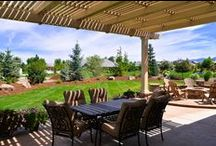 ShadeWorks Patio Covers & Pergolas / Find inspiration for your own patio transformation with some of our favorite projects we've worked on over the years. Our exclusive MOCKWOOD™ products provide a low maintenance experience and are backed by a lifetime warranty!