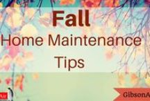 Fall Home Maintenance Tips / fall home maintenance tips and checklists to prepare your Las Vegas home for the colder winter months! Prepare for winter. Fall preventative maintenance should start with a Furnace Tune Up to ensure your heating system is operating efficiently.