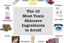 Dangerous Skincare Ingredients / Learn about toxic skincare ingredients in your products, and what you should avoid. Take responsibility for the health of you and your family by learning the truth about standard cosmetic companies.