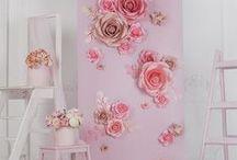 Fleurs de Papier // OR DU MONDE / Design Floral