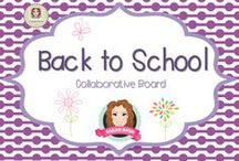 Back to School Inspiration / Sharing a range of fun, time saving, practical  and creative Back to School ideas!  (Guidelines for Invited Pinners: if you could pin up to 3 paid pins a day and share a few unpaid pins as well that will help us keep a nice balance on the board for our followers. If you'd like to be invited to pin please email me at sarahannescreativeclassroom@yahoo.com)