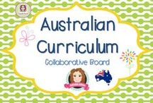 Australian Curriculum / We are collecting resources, ideas, inspiration, tips and tricks to help us tackle the new Australian Curriculum.   (Guidelines for Invited Pinners: if you could pin up to 3 paid pins a day and share a few ideas/unpaid  pins as well that will help us keep a nice balance on the board for our followers. If you'd like to be invited to pin please email me at sarahannescreativeclassroom@yahoo.com)