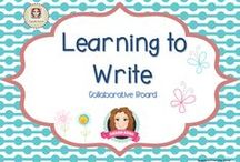 K-2 Writers / A collection of resources to help teachers extend aspiring writers, while supporting reluctant writers. (Guidelines for Invited Pinners: if you could pin up to 3 paid pins a day and share a few ideas/unpaid pins as well that will help us keep a nice balance on the board for our followers. If you'd like to be invited to pin please email me at sarahannescreativeclassroom@yahoo.com)