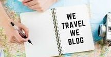 We Travel We Blog / We are a group of up and coming travel bloggers, located across all six continents around the world!  Check out our latest stories, posts and photographs and get inspired to travel!