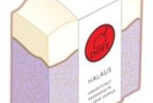 Doft saippuat / Doftin tuoksuva tuotevalikoima.