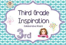 Third Grade Inspiration / A collection of resources for third 3rd grade teachers and their classrooms.  (Guidelines for Invited Pinners: if you could pin up to 3 paid pins a day and share a few ideas/unpaid  pins as well that will help us keep a nice balance on the board for our followers. If you'd like to be invited to pin please email me at sarahannescreativeclassroom@yahoo.com)