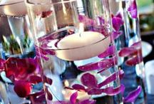 Candles  / Wedding Decorations and Centerpieces