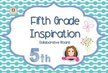 Fifth Grade Inspiration / A collection of resources for 5th grade teachers:)  (Guidelines for Invited Pinners: if you could pin up to 3 paid pins a day and share a few ideas/unpaid pins as well that will help us keep a nice balance on the board for our followers. If you'd like to be invited to pin please email me at sarahannescreativeclassroom@yahoo.com)