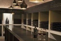 와인 및 디자인 / Wine & Design - wine bars, restaurants, cellars, bottles, labels, products, etc.