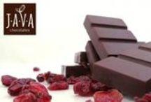 Chocolate / Chocolates finos com propriedades funcionais, feitos com ingredientes naturais.
