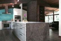 Popular Grey | Haas Cabinet / Is grey the new white trend in kitchen cabinetry? Let's find out! www.haascabinet.com